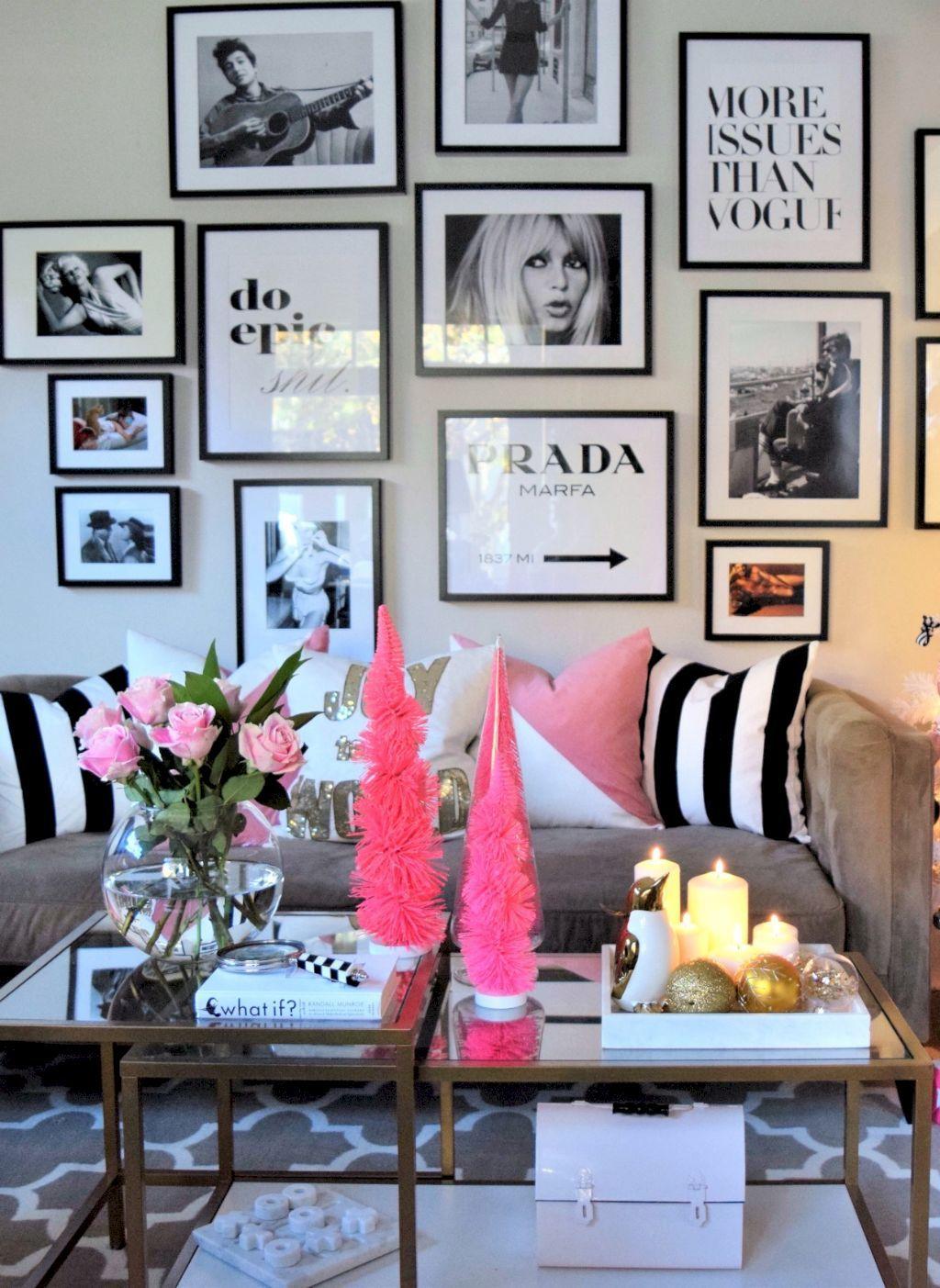 45 Stunning Christmas Living Room Decor Ideas images