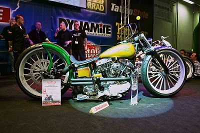 A super cool bike PLUS Toblerone.  What a combo!