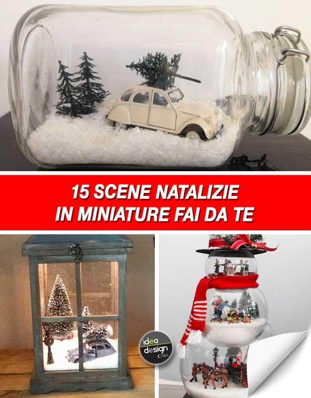 Una scena natalizia in miniatura per decorare casa 15 for Ornamenti casa