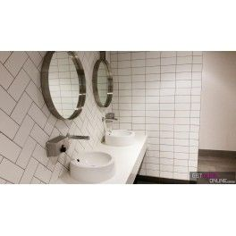 Bean White Gloss 100x200 Code 00610 Wall Tiles Toilet Design Bathroom Wall