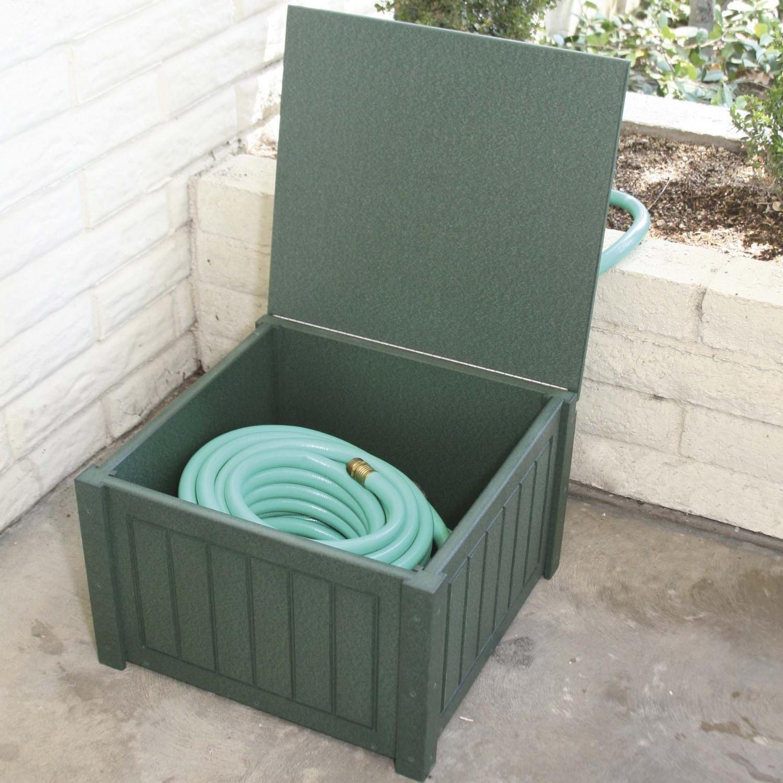 Eagle One Recycled Plastic Patio Hose Box Garden hose
