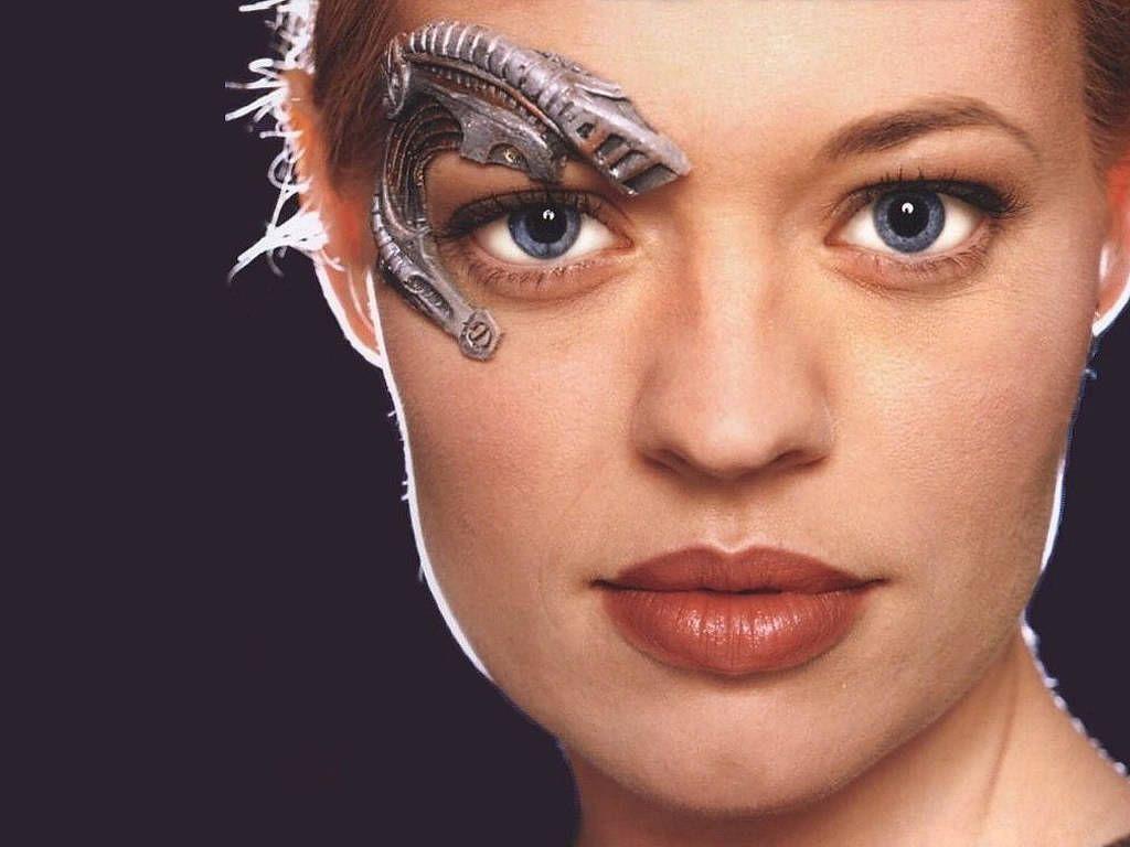 Borg Is Beautiful  Beautiful Women  Star Trek Voyager -3346