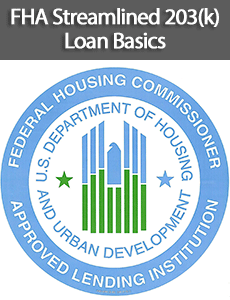 Fha Streamlined 203 K Loan Loan For Moderate Rehabilitation