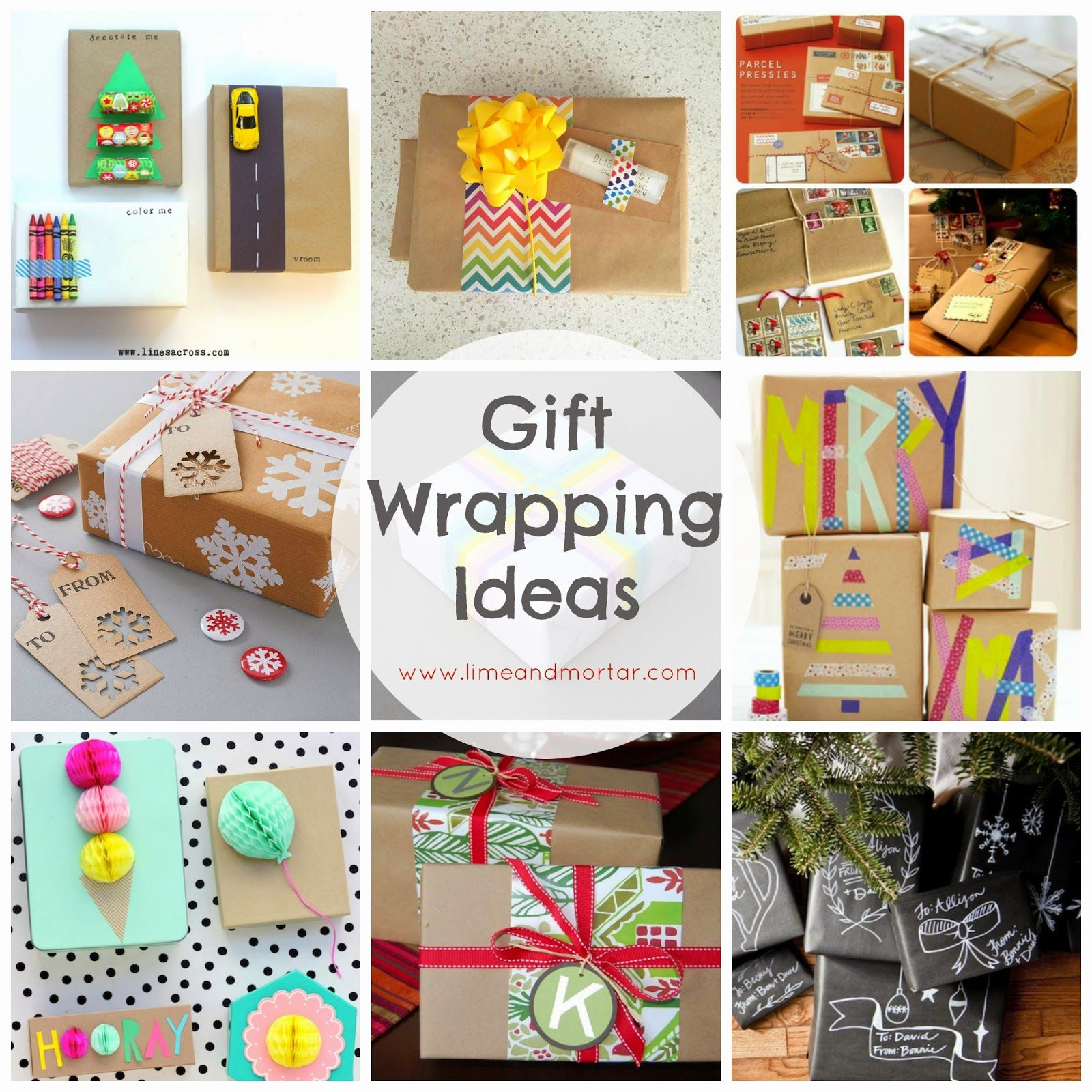 Sharing is Caring!11000Creative Gift Wrapping Ideas I really enjoy ...