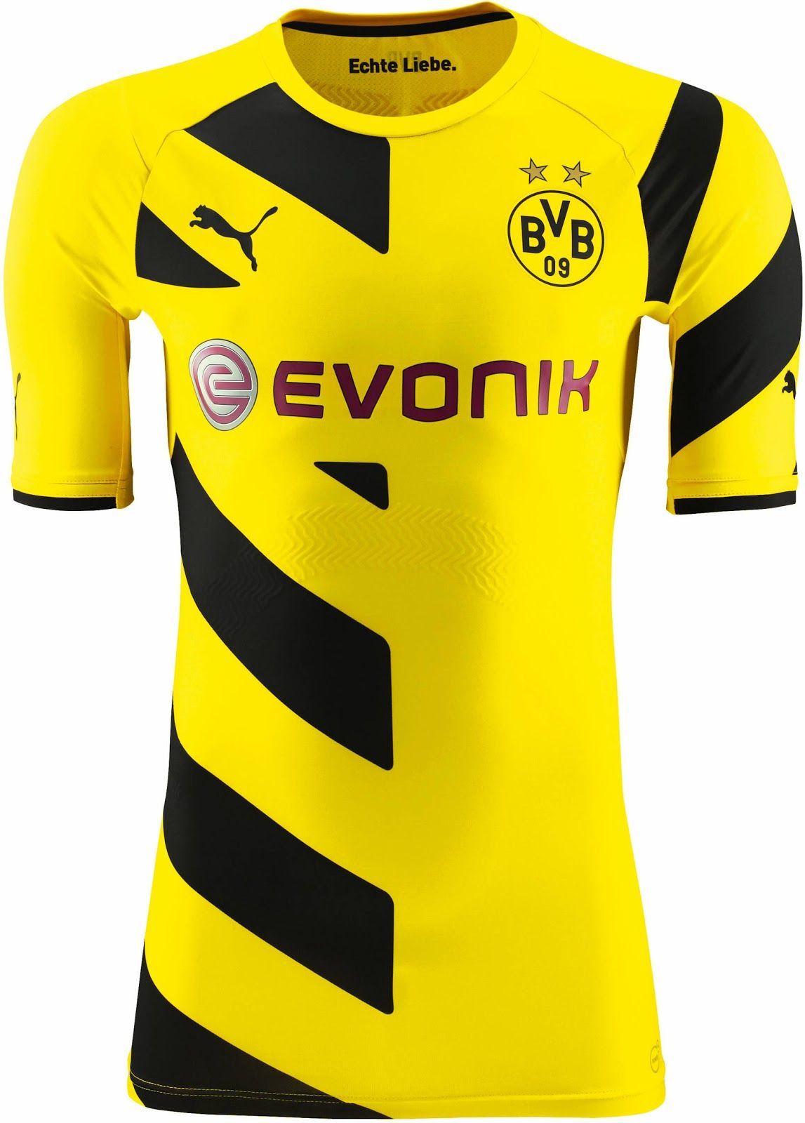 Borussia Dortmund Home and Away Kits released - the new Borussia Dortmund  Home Shirt is yellow and features a bold front and sleeve design. The black  ...