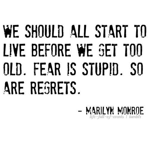 Marilyn was so philosophical