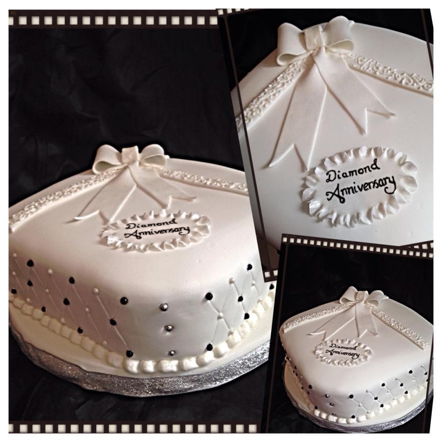 Diamond Wedding Anniversary   Diamond wedding cakes ...