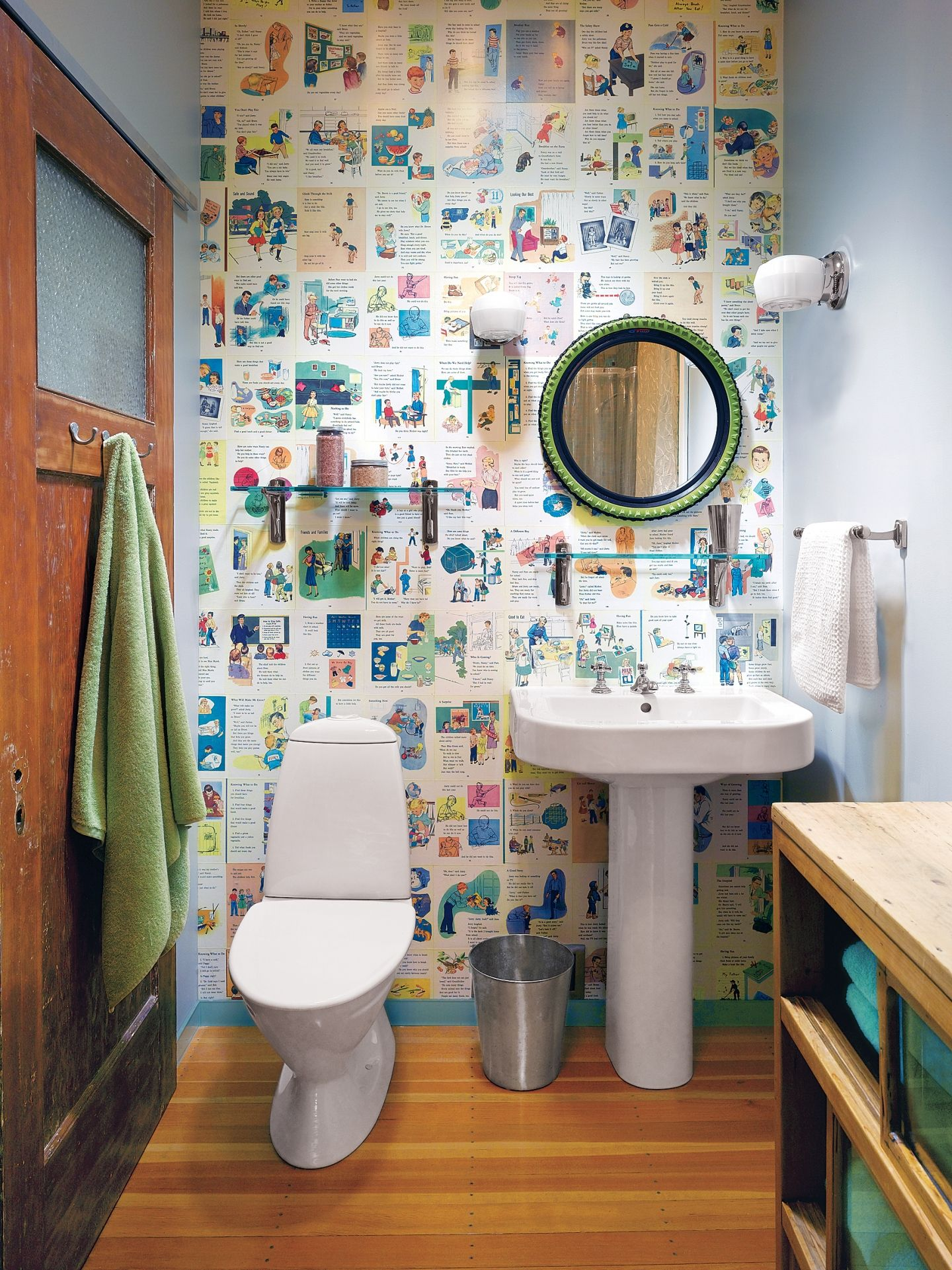 28 Ways To Refresh Your Bath On A Budget. Wallpaper PasteGraphic ...