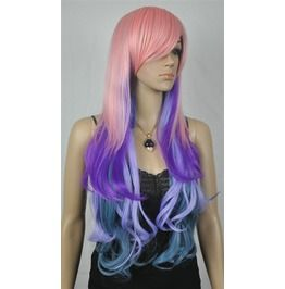 Amazing Multiple Colors Long Handmade Luxury Wig Free Shipping Worldwide!! Bz Fg  For more my COMPLETE line of awesome clothing and accessories which you'll LOVE, please visit:http://www.bonanza.com/booths/modadesigns