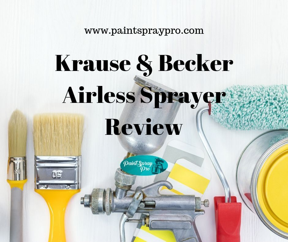 No Air Compressor Needed! in 2020 Paint sprayer reviews
