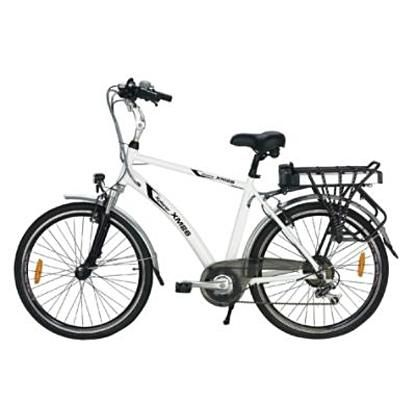 Yukon Xplorer Xm26 Sport Hybrid Electric Bike With Lithium Ion Battery I Need This 3 It Hybrid Electric Bike Electric Bike Bicycles Electric Bike