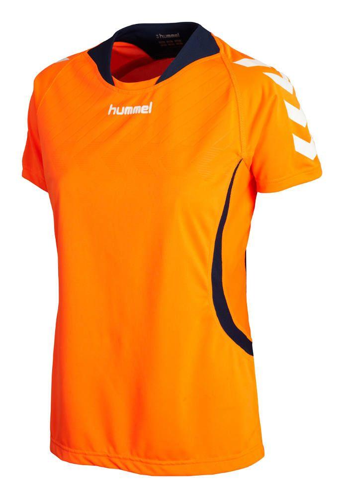 Hummel Team Player Damen Trikot shocking orange  63a06dc51d5