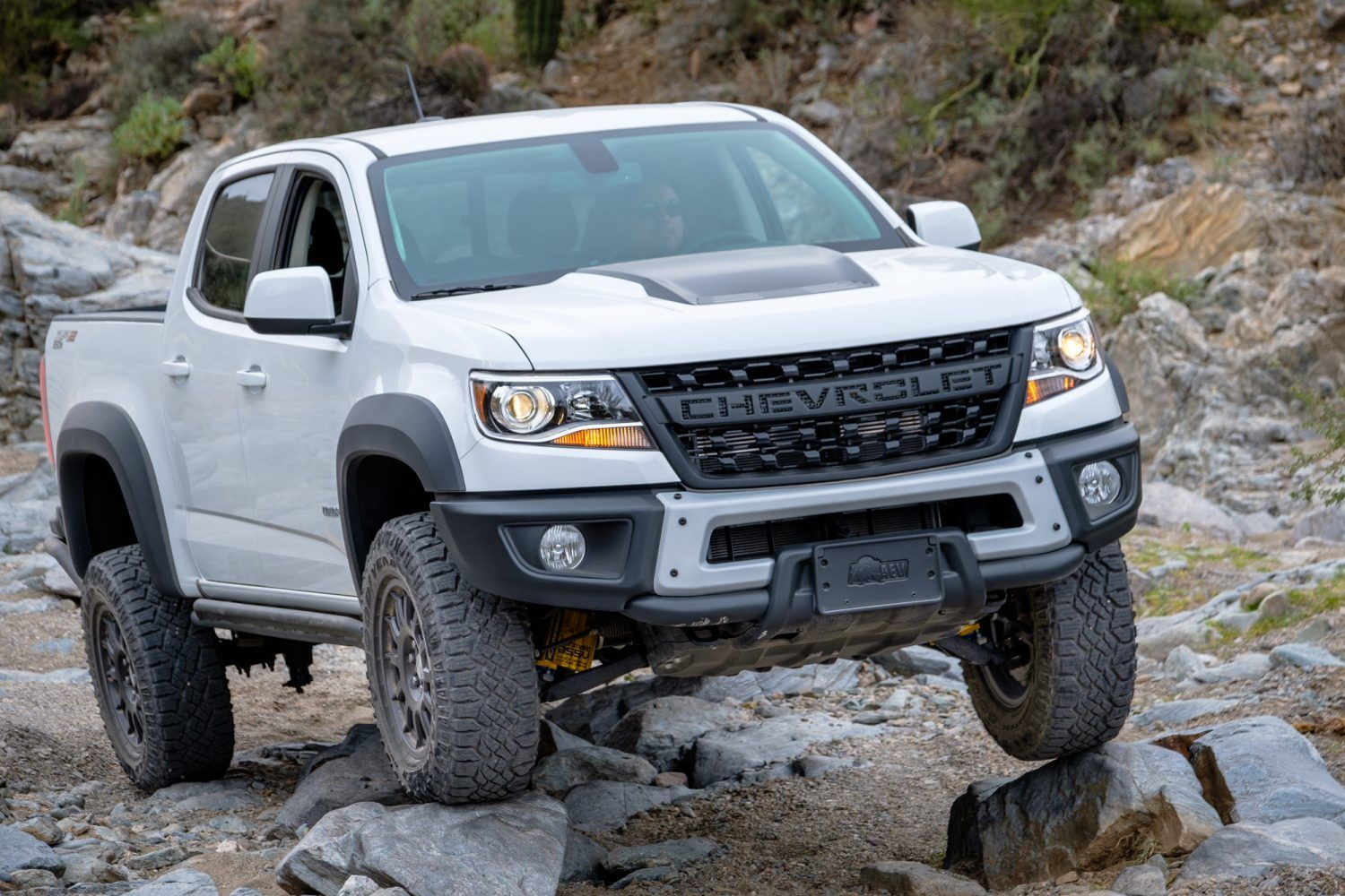 The First Chevrolet Aev Bison Off Road Test Chevy Colorado
