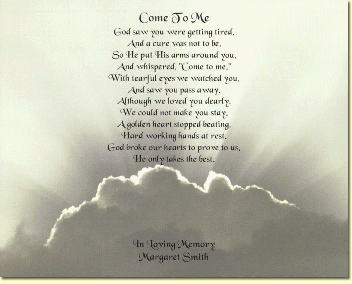 Funeral Poems And Quotes Bing Images Poems Pinterest