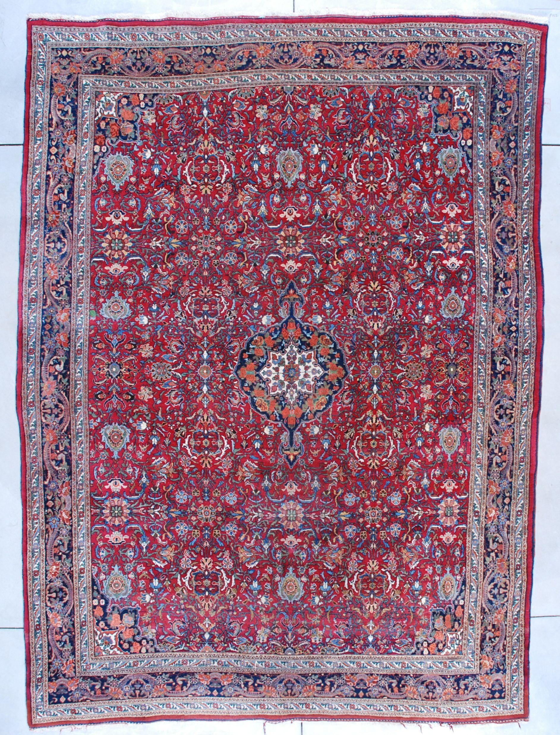 7534 Room Size Bidjar Oriental Rug 8 9 X 11 10 Rugs Carpet