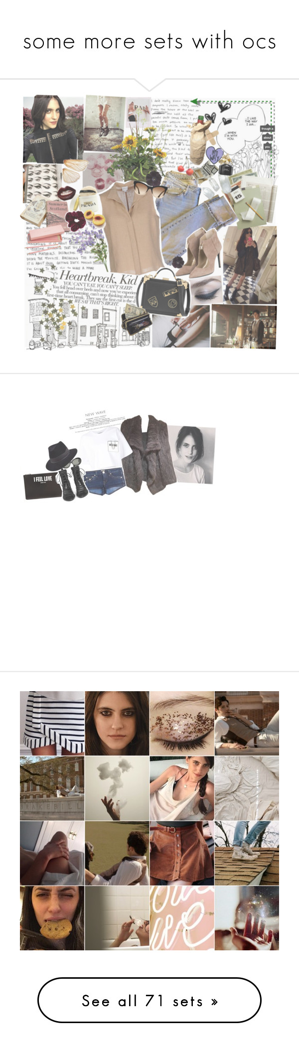 """""""some more sets with ocs"""" by i-love-stan-the-man ❤ liked on Polyvore featuring Prada, Vision, Ødd., Armani Collezioni, Karl Lagerfeld, Aspinal of London, Manic Panic, AmeriLeather, Marc Jacobs and Givenchy"""