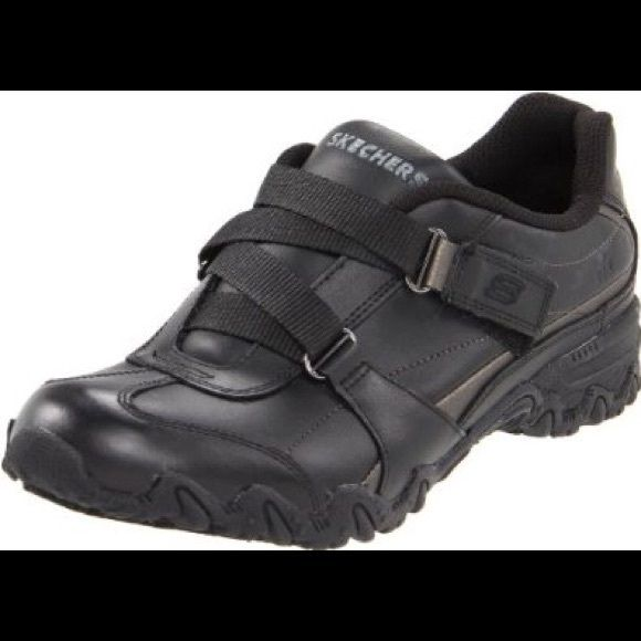 Black Velcro Sketchers nonslip Shoes Worn only for work. Not needed anymore  Skechers Shoes Sneakers b74937501