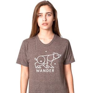 Bear Shirt Women's Coffee, $27, now featured on Fab.