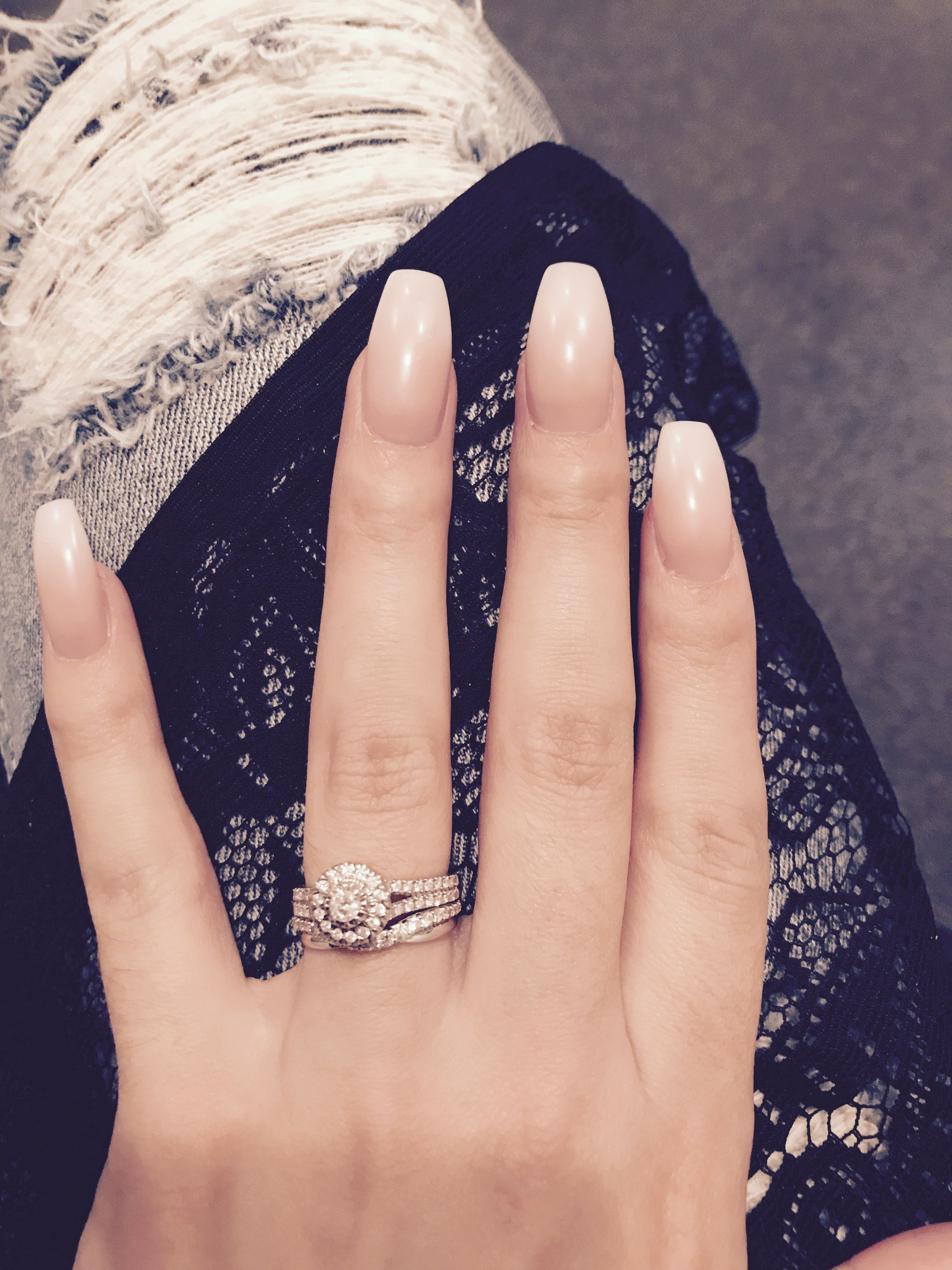 Natural ombré nails | nails(; | Pinterest | Natural, Manicure and ...