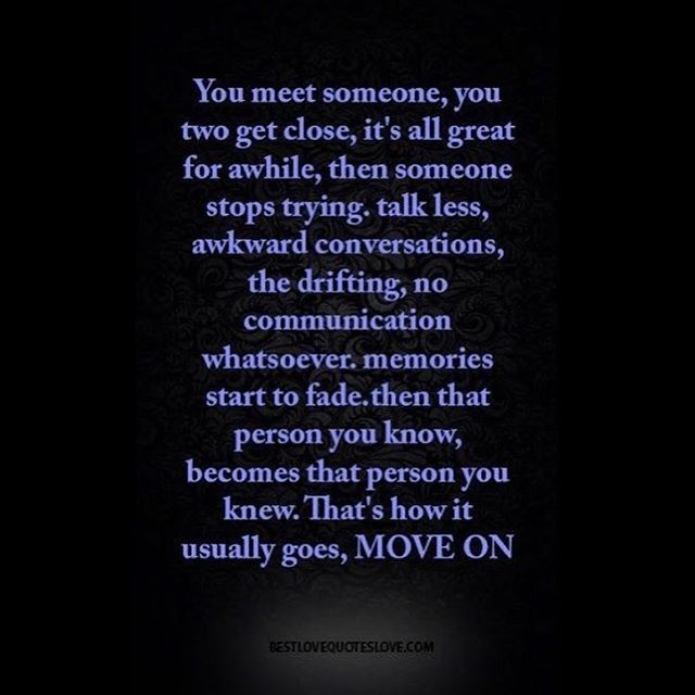 Wise Quotes After Break Up: The Person You Knew