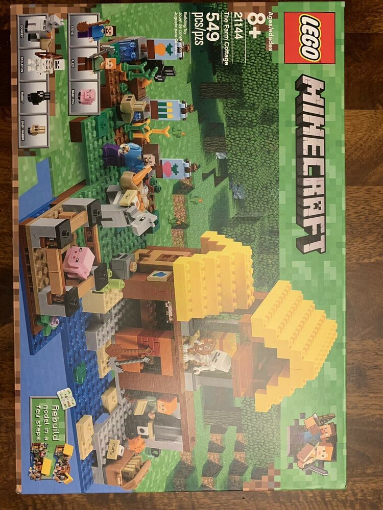 d718794fe93b Lego Minecraft 21144 The Farm Cottage New MINT In Box Free Shipping! # minecraft #playing #game