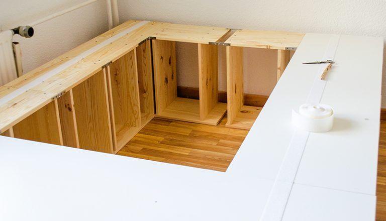 Diy Ikea Hack Plattform Bett Selber Bauen Aus Ikea Kommoden Werbung Bett Selber Bauen Bett Selber Bauen Anleitung Und Bett Bauen