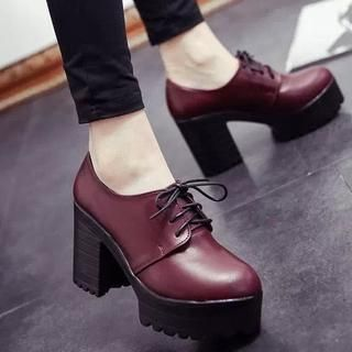 Heel Shoes' International Lace up 'Wello with Buy – Free iTwOPXkZul