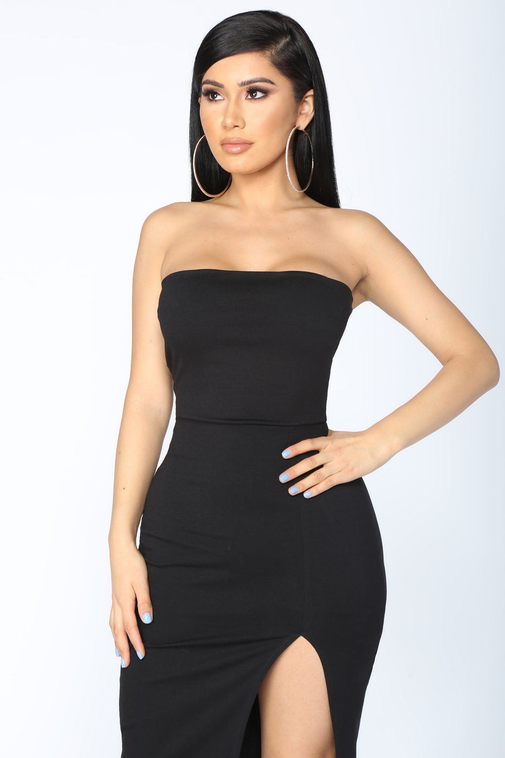 31d4b3cb21 Brady Tube Dress - Black in 2019