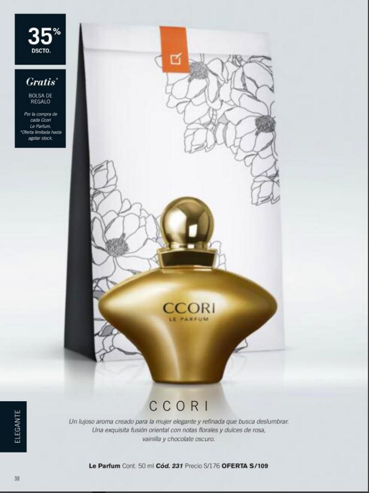 CCORI ROSE perfume de unique, un lujoso aroma para la