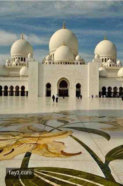 صورة مسجد الشيخ زايد الكبير ٢٣ أبوظبي Mosque Islamic Architecture Sheikh Zayed Grand Mosque