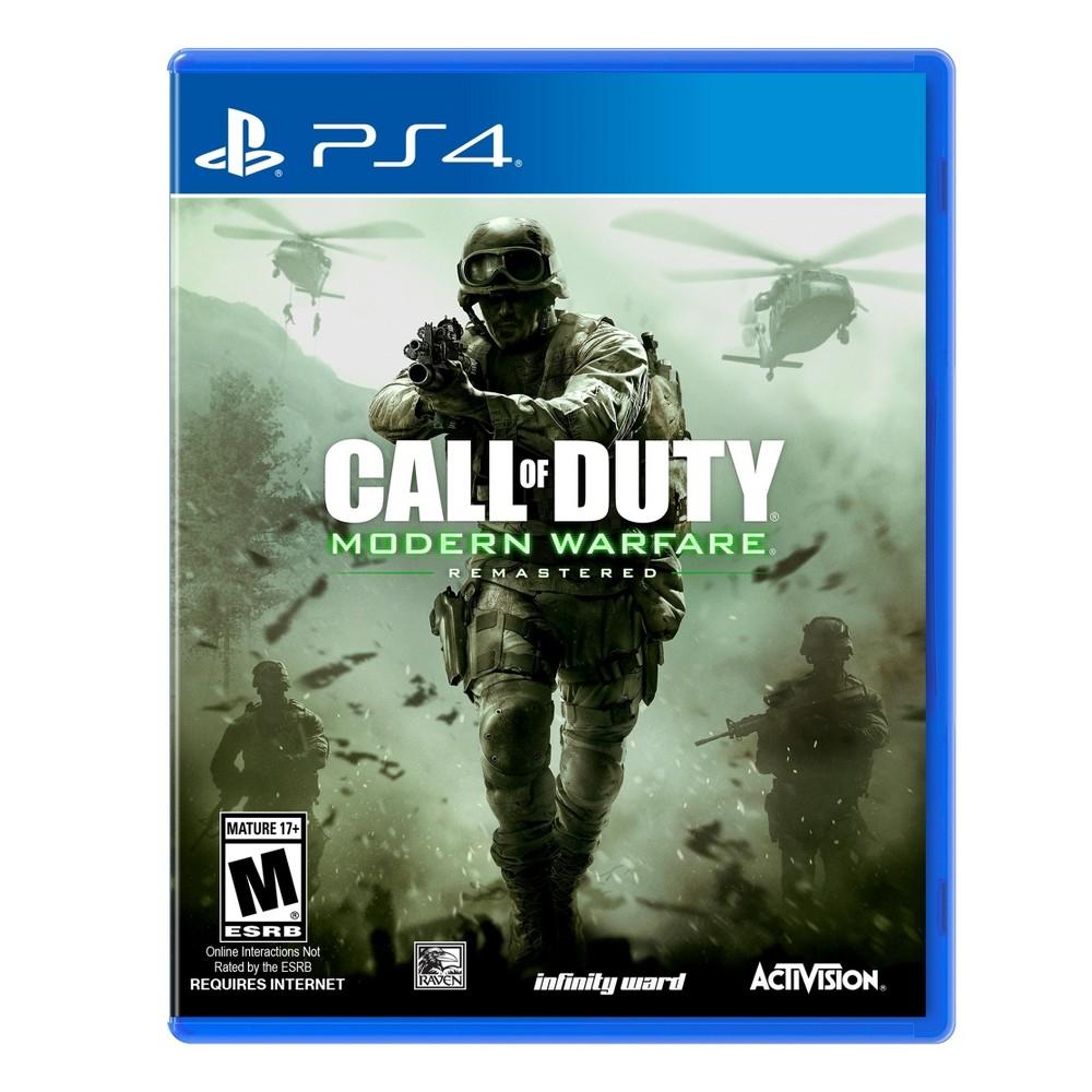Call of Duty Modern Warfare Remastered PlayStation 4