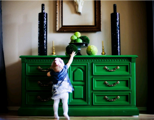 Kelly Green Painted Furniture   Google Search