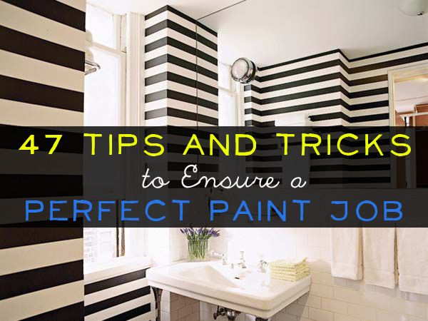 Tips Badkamer Schilderen : Tips and tricks to ensure a perfect paint job