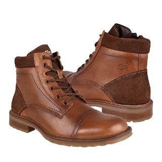 57916c3a Botas Caribu 255 Piel Miel | รองเท้า | Zapatos hombre, Botas y Botas ...