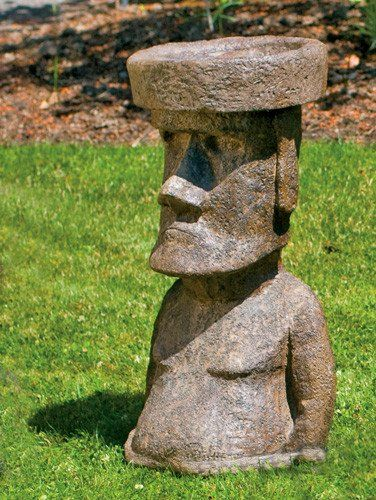 Rapa Nui. Easter IslandGarden StatuesBird ...