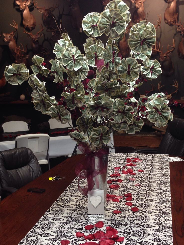 money tree ideas | Money tree for wedding shower! | crafts ...