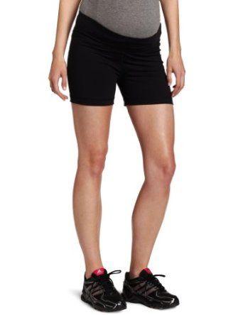 2812b7b341d5a Amazon.com: Fit2BMom Women's Maternity Tech Endurance Short: Clothing