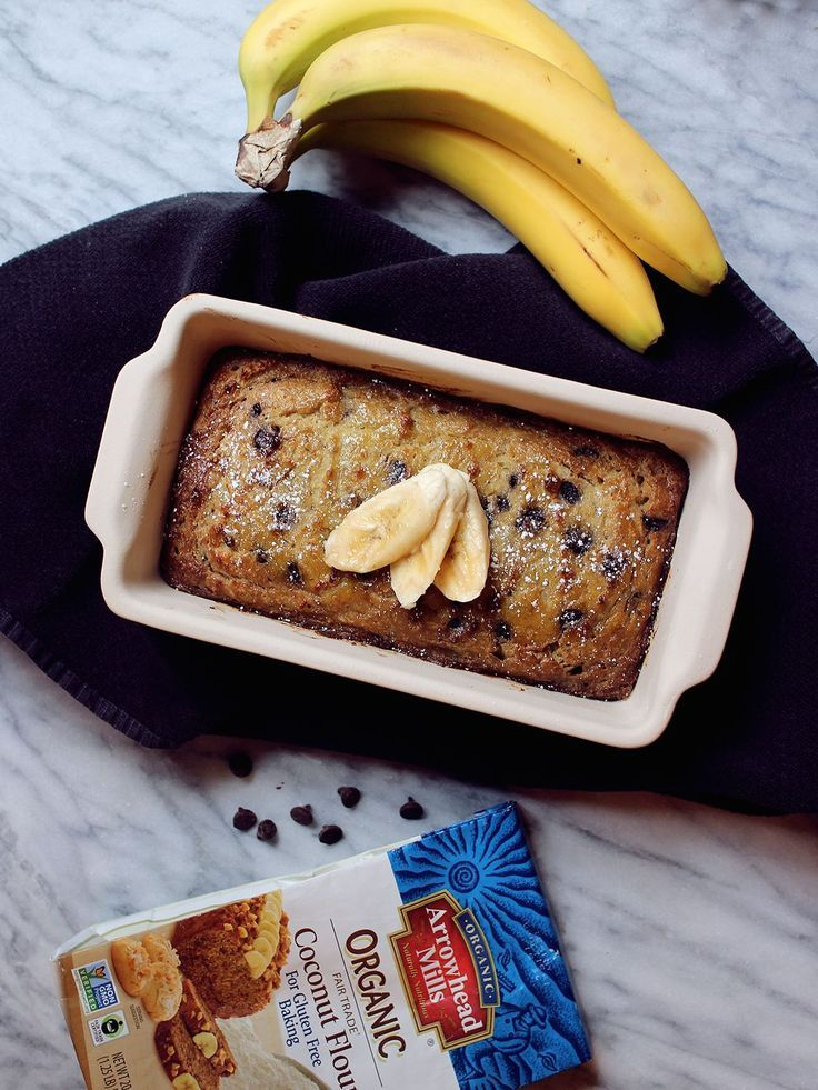 Use Coconut Flour to make a delicious Gluten Free Banana Bread for your next brunch party! #BakeitForward
