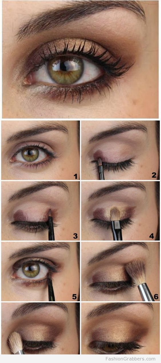 How to Apply Eyeshadow - Eye Makeup Tips for Every by Eye Shape ...