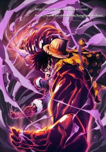 Onepiece Luffy Gear4 Anime Luta Tudo Anime E Arte Anime