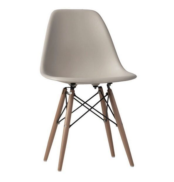 Set Of 2 Gray Mid Century Modern Eames Style Dsw