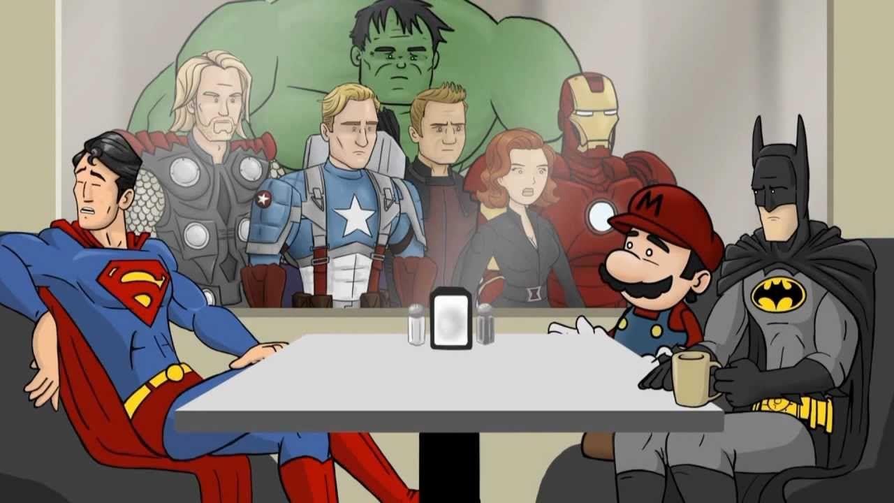 All Superhero Café Clips - HISHE (+playlist) | Super cafe ...