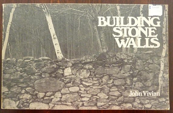 Vintage do it yourself book building stone walls by john vivian vintage do it yourself book building stone walls by john vivian 1976 solutioingenieria Choice Image