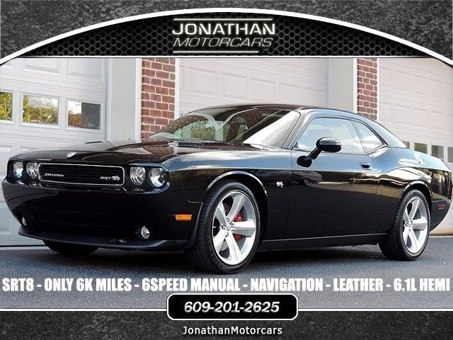 Nice Amazing 2009 Dodge Challenger SRT8 2009 Dodge Challenger SRT8 6216  Miles Brilliant Black Crystal Pearl Coat Coupe V 2018 2019