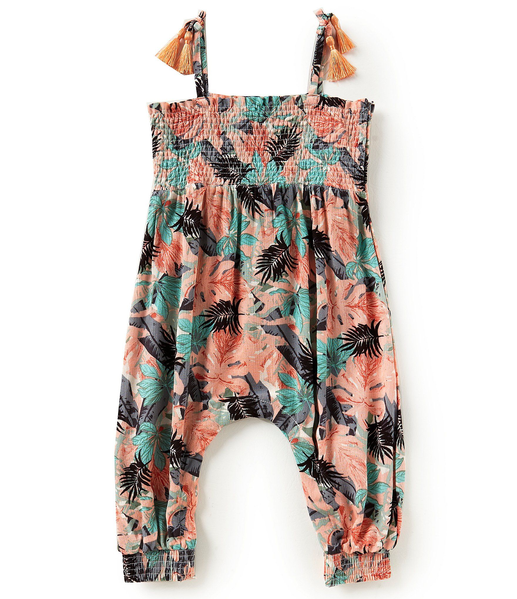 854b62f7f970 Shop for Jessica Simpson Baby Girls 12-24 Months Tropical Floral Printed  Romper at Dillards.com. Visit Dillards.com to find clothing