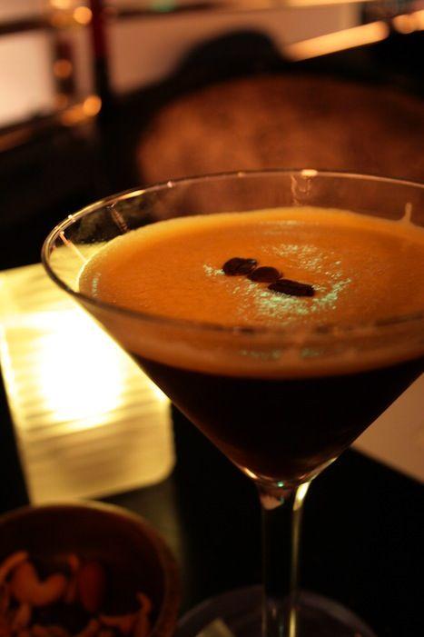 Espresso Martini     1 1/2 oz vodka  1 1/2 oz Kahlua® coffee liqueur  1 oz Bailey's® Irish cream  3 oz espresso