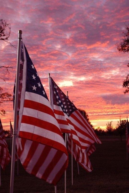 4 Tumblr American Flag I Love America God Bless America