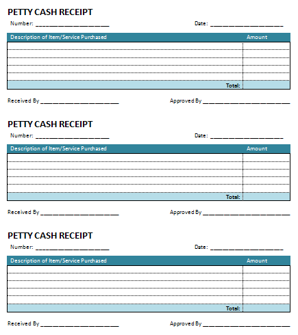 9 Petty Cash Templates Word Excel Pdf Templates Invoice Template Receipt Template Templates