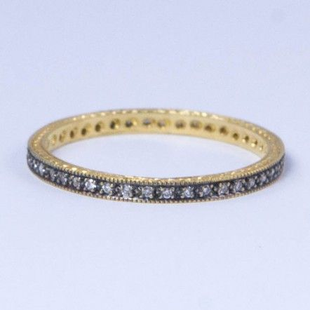 Thin Pave Band - Etc Jewelry and Accessories