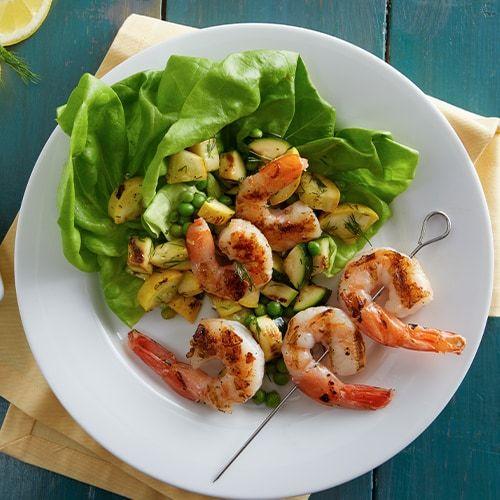 I'm Checking Out A Delicious Recipe For Lemon Dill Shrimp